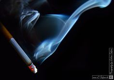 A cigarette, Pictures and Greeting cards. Bilder und Grusskarten. Eine Zigarette