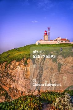 #CapeRoca, the extreme points of Europe. Sintra-Cascais Natural Park, #Portugal. Cabo da Roca (Cape Roca) is a cape which forms the westernmost extent of mainland Portugal and continental #Europe (and by definition the Eurasian land mass). The cape is in the Portuguese municipality of Sintra, west of the district of Lisbon, forming the westernmost extent of the Serra de #Sintra. #stock #photography