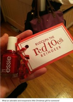 Inexpensive cute gift idea.