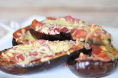 Aubergine uit de oven, een heerlijk aubergine recept. Aubergine uit de oven is lekker en gezond. Gevulde aubergine met kruiden en olijfolie