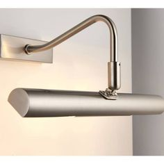 Endon Linton Satin Chrome LED Picture Light from Lights 4 Living