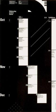 Willi Kunz - Graduate School of Architecture, Columbia University. Lecture Series Fall 1985
