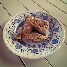 Healthy vegan apple oat scones - scones vegani all'avena e mele