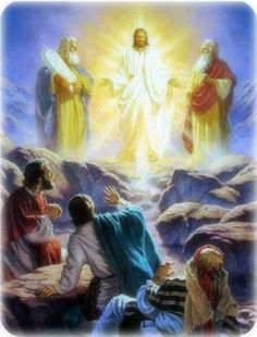 """In Luke Chapter Nine, three of Jesus's disciples find him in dazzling white clothes on a mountaintop, talking with Moses and Elijah. Then a voice from the sky said, """" This is my chosen Son; Lord And Savior, God Jesus, Malta, Image Jesus, Mysterious Events, Jesus Second Coming, The Transfiguration, Biblia Online, Light Of Christ"""