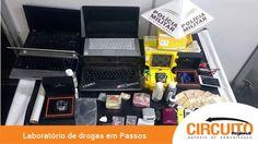 ESTAMPARIA DE PASSOS ESCONDIA LABORATÓRIO DE DROGAS