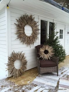 Home Decoration Ideas Diy .Home Decoration Ideas Diy Twig Crafts, Beach Crafts, Nature Crafts, Home Crafts, Diy And Crafts, Easy Home Decor, Home Decor Bedroom, Cheap Home Decor, Bedroom Beach