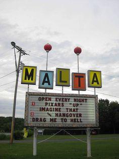 Malta Drive-in....Saratoga, New York