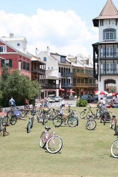 bicycles, Rosemary Beach #southwalton