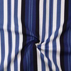 Nautica Stripes - blau - Maritime Dekostoffe - Dekostoffe Streifen - stoffe.de