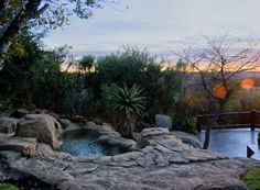Elephant Rock Private Safari Lodge, Nambiti Private Game Reserve, KWZ, South Africa - where I will be in 2 months Romantic Bath, Romantic Escapes, Outside Showers, Private Safari, Game Lodge, Private Games, Game Reserve, Weekends Away, Luxury Travel