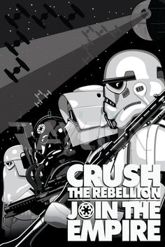 Join the Rebellion | Star Wars Propaganda Poster by Jon Hill at Coroflot.com