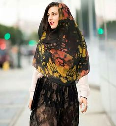 Headscarf style