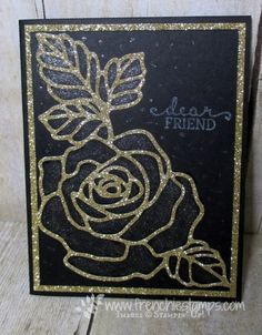 Hello Friends   Yes more with the Rose Garden thinlits and the Rose Wonder. All these card was what I demo at live even plus all the ...