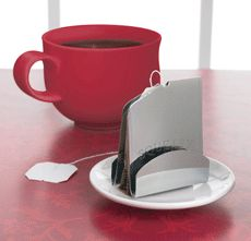"""Squeasy Tea Bag Squeezer  """"Squeasy tea bag squeezer allows you to get every drop from your teabag without scorching your fingers."""""""