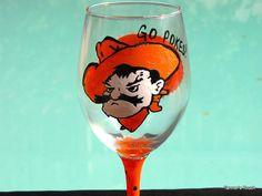 OSU wine glass! Love it!