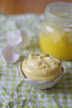 uten gluten: hjemmelaga superhurtig aioli/majones med smør
