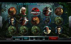 Jurassic Park Spilleautomaten - Selve spilleautomaten Jurassic Park slot har selvfølgelig et tema som er fra filmen fra 1993. Det er altså dinosaurer og hovedkarakterene fra filmen som du kan kombinere med store gevinster. http://www.spilleautomater-online.com/spill/jurassic-park-spilleautomaten