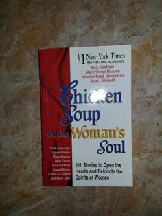 Chicken Soup for the Woman's Soul by Marci Shimoff, Jennifer R. Hawthorne... $5.98 Free Shipping! Get $5 off for every $50 spent at my eBay store http://MelodyAtHome.com
