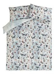 George Home 100% Cotton Family of Animals Duvet Set