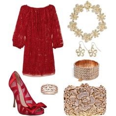 Crystal..., created by rkimball on Polyvore