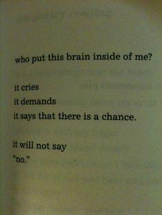 The Crunch by Charles Bukowski