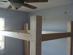 Full Sized Loft Bed Instructable