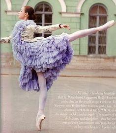 If i were a ballerina, I would dress like this!