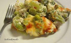 Chicken and Broccoli Cheesy Casserole - Low Carb Recipe