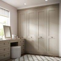 Milton - An Elegant Shaker Style Wardrobe From Hepplewhite