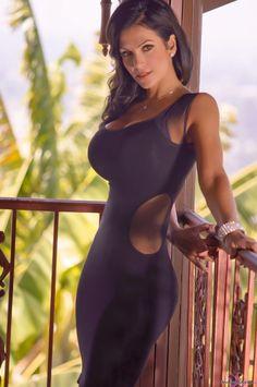 Denise Milani- Black Dress 3