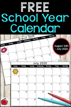 Perfect for all your planning throughout the school year. Use this free calendar to schedule Teacher Calendar, Behavior Calendar, Homework Calendar, Classroom Calendar, Academic Calendar, Classroom Newsletter, Classroom Freebies, Calendar Calendar, Classroom Ideas