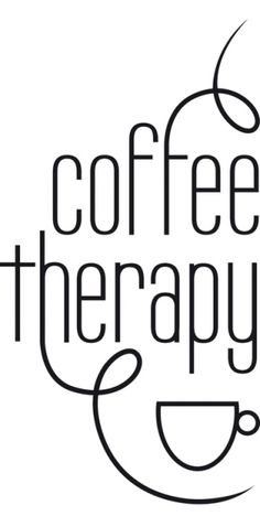 Therapy in a Cup!