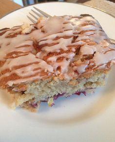 Vegan Family Living: Blueberry & Lemon Loaf Cake - Vegan, Low Gluten & ...