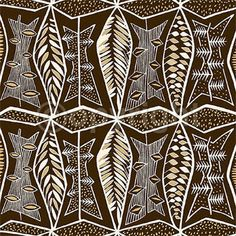 contemporary african stencil - Google Search