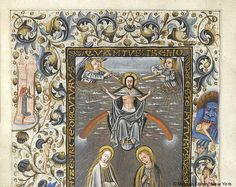 Book of Hours, MS M.854 fol. 135v - Images from Medieval and Renaissance Manuscripts - The Morgan Library & Museum