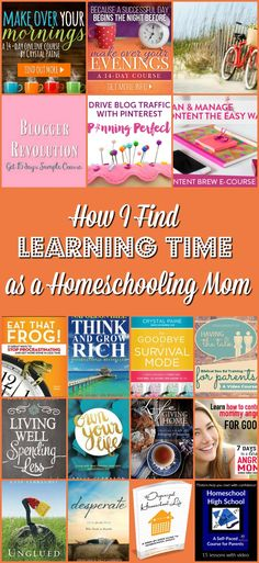 There is not much time in a day left out for a homeschooling mom to find learning time. A little time to upgrade and update ability to be more…