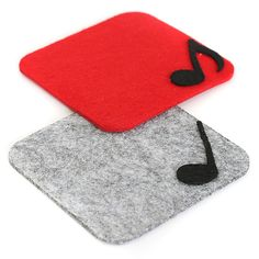 Keçe Notalı Bardak Altlığı - Mutfak 301680 | zet.com Felt Diy, Felt Crafts, Diy And Crafts, Felt Coasters, Diy Coasters, Sous Bock, Glitter Projects, Tea Coaster, Felt Decorations