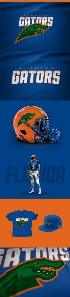 Florida Gators -  - American Football Team Rebrand Concept by Miika Kumpulainen