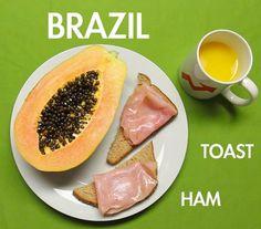 A quoi ressemble le petit-déjeuner dans les autres pays ?