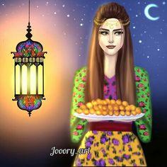 #ramdan Ramadan Photos, Eid Boxes, Eid Mubarak Quotes, Ramadan Cards, Girly Dp, Ramadan Lantern, Cute Cartoon Girl, Cute Girl Drawing, Pretty Fonts