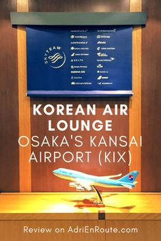 Osaka Airport Lounge Review: Korean Air Lounge at KIX | Adri En Route