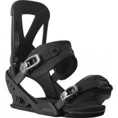 Burton mission snowboard bindings black grit