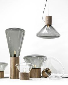 Same goes to our muffins... new finishing, walnut over grey - smoky glass,  a classic yet contemporary #brokis