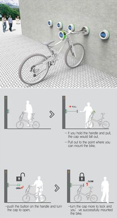 What if we could mount a bike on the wall?