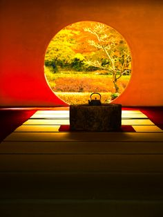Fall at Meigetsu-in Temple, in Kita Kamakura, Kanagawa Prefecture,. Japanese Modern, Japanese Beauty, Japanese Culture, Zen, Graphic Wallpaper, Japan Design, Kyoto Japan, Historical Architecture, Light And Shadow
