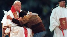 Papa Francisco: Juan Pablo II para los jóvenes, un padre y un amigo - Aleteia