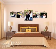 how to create a photo gallery, wall collage