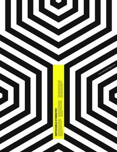 статичная композиция, но за счет линий кажется динамичной. Композиционный центр выделен контрастом цвета, формой. Соблюден баланс, акцент на желтом прямоугольнике, контраст.