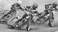 Chris Morton and Peter Collins - Belle Vue v Halifax 1977