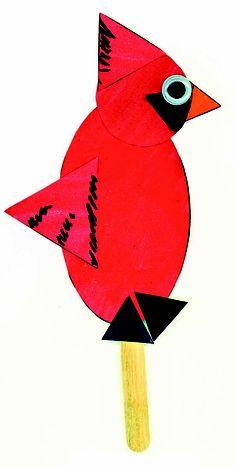 Teach shapes: Bird
